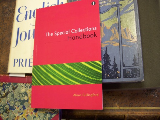 Special Collections Handbook and some Special Collections