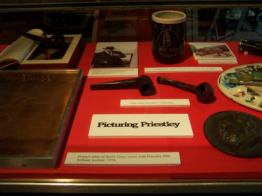From Picturing Priestley exhibition at the Ilkley Literature Festival 2006, featuring J.B. Priestley Archive