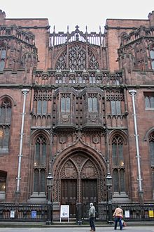 Facade of the John Rylands Library